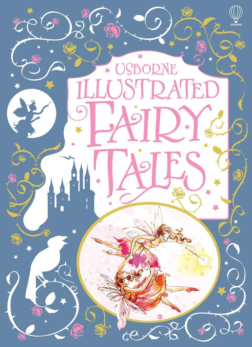 "Minimalist Fairy Tale Book Covers : ""illustrated fairy tales at usborne children s books"
