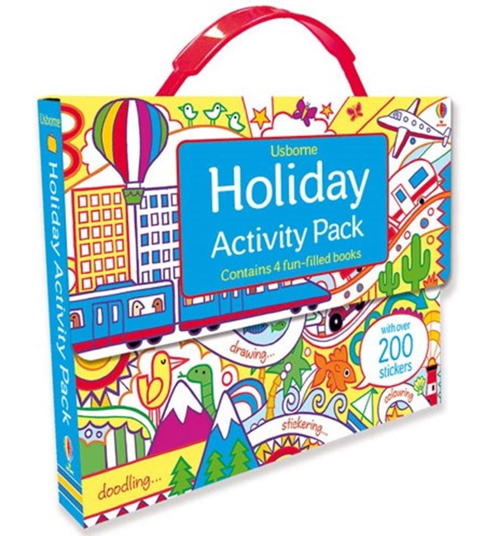 """""""Holiday activity pack"""" at Usborne Books at Home"""