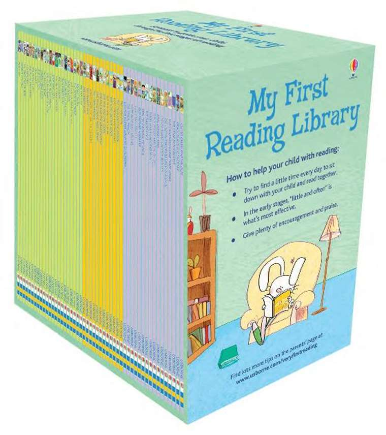 My First Reading Library At Usborne Children S Books