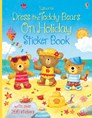 Dress the teddy bears on holiday sticker book