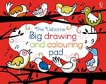 Big drawing and colouring pad