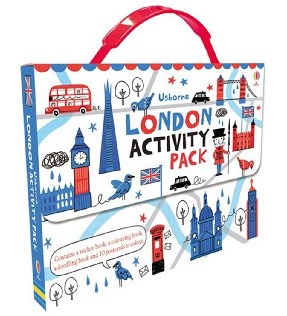 """""""London activity pack"""" at Usborne Books at Home"""