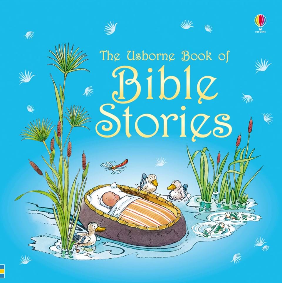 usborne book of bible stories with cd