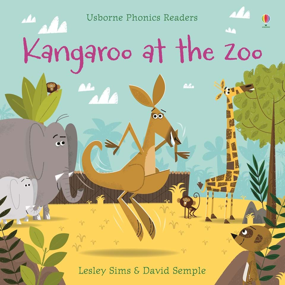 kangaroo at the zoo u201d at usborne children u0027s books