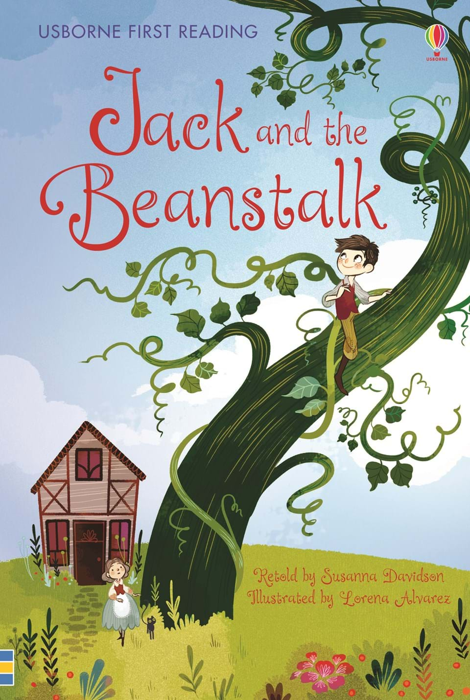 jack and the beanstalk book report English-spanish version --in this beloved tale, jack watches in amazement as his magic beans grow into a beanstalk that reaches beyond the clouds children will.