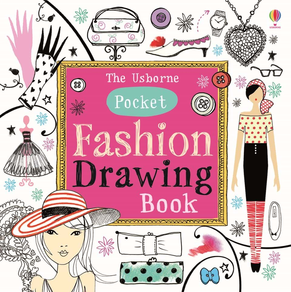 Pocket Fashion Drawing Book At Usborne Children S Books