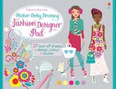 Sticker Dolly Dressing Fashion designer pad