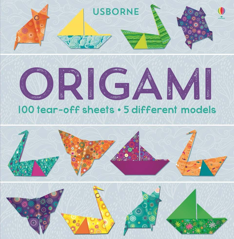 """Origami: 100 tear-off sheets"" at Usborne Children's Books - photo#39"