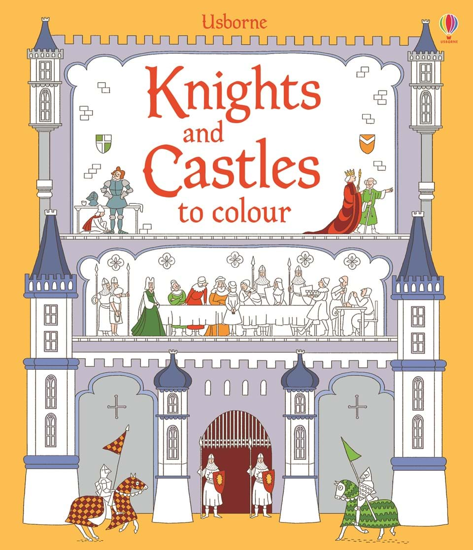knights and castles to colour - Castles Pictures To Colour