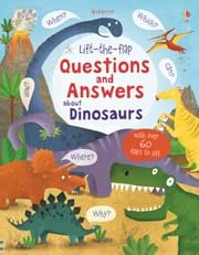 Lift-the-flap questions and answers about dinosaurs
