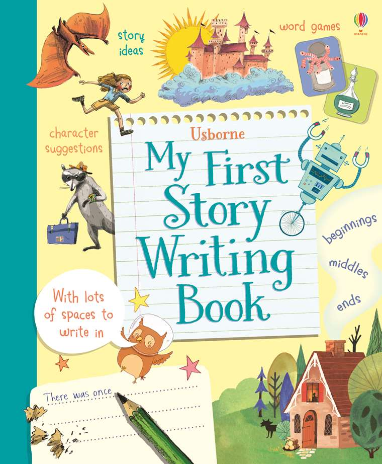 """My first story writing book"""" at Usborne Children's Books"""