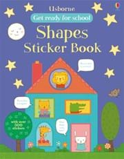 Get ready for school shapes sticker book