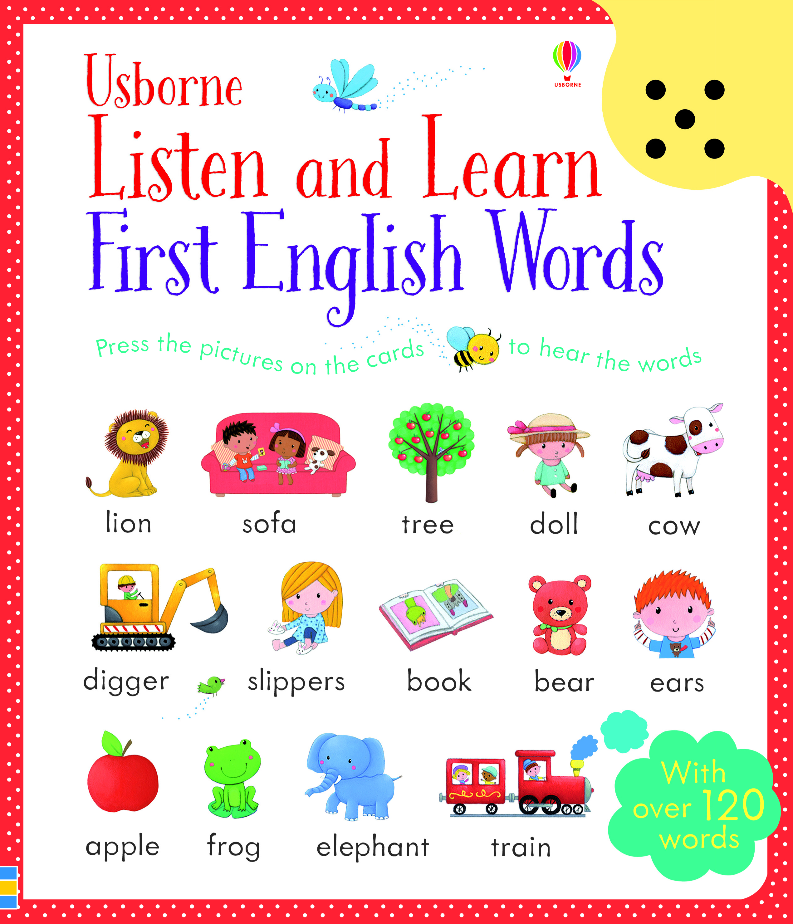 """Listen and learn first English words"""" at Usborne Children's Books"""