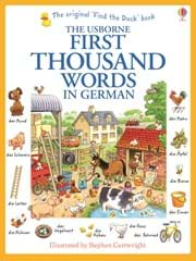 First thousand words in German