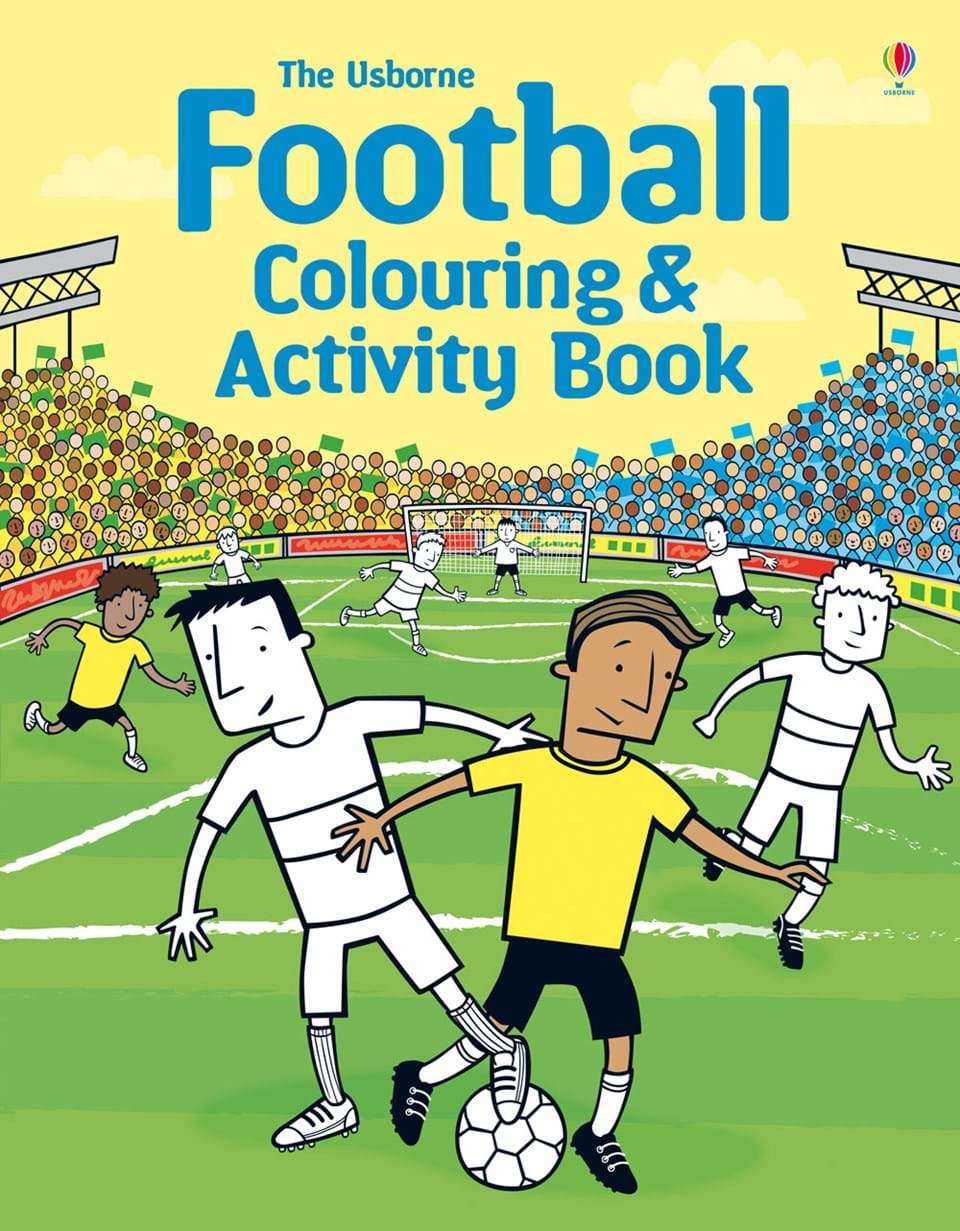 "Football colouring and activity book"" at Usborne Books at Home"