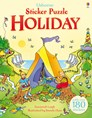 Sticker puzzle holiday