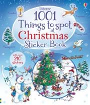 1001 things to spot at Christmas sticker book