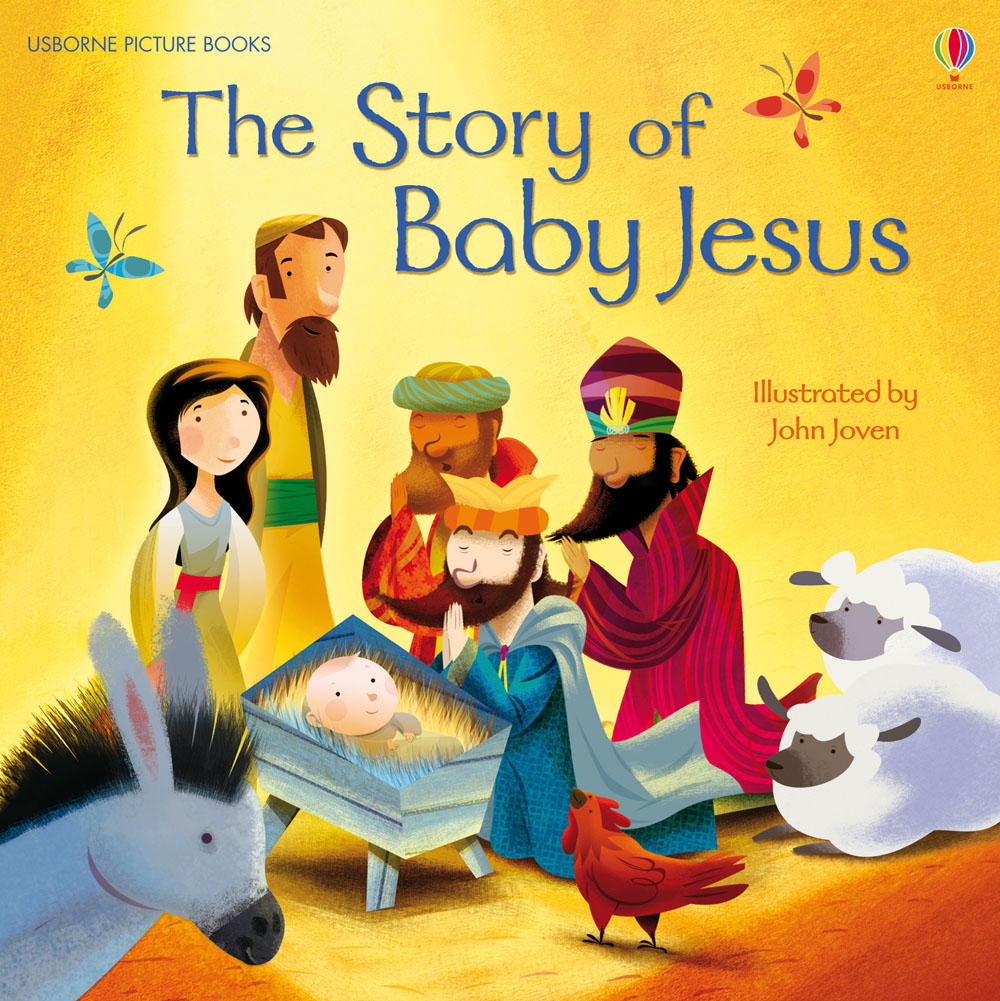 "The story of baby Jesus"" at Usborne Children's Books"
