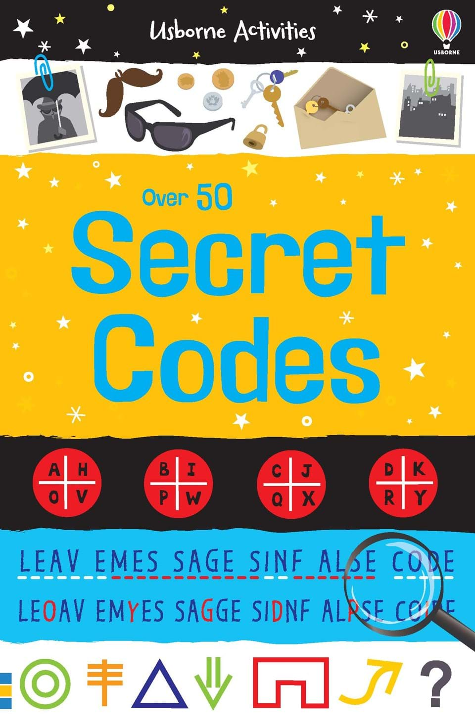 "Over 50 secret codes"" at Usborne Children's Books"