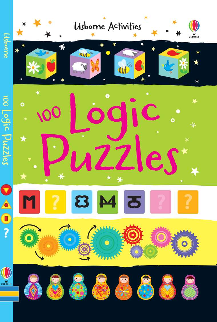 100 logic puzzles at usborne children s books