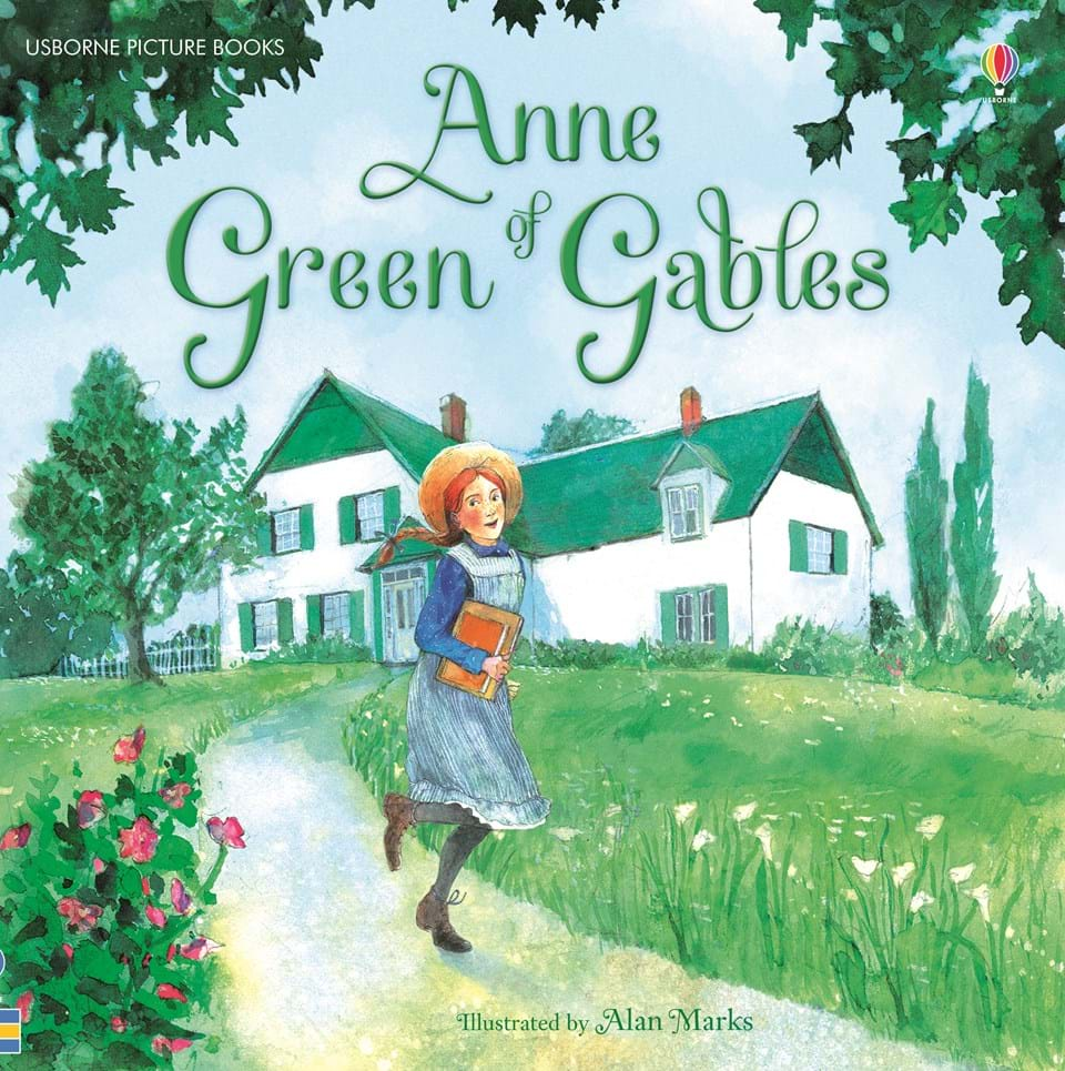 "Children S Book Covers Alan Powers : ""anne of green gables at usborne children s books"