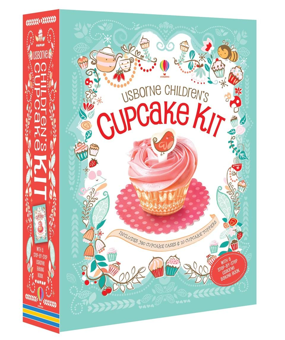 """Children's cupcake kit"" at Usborne Children's Books"