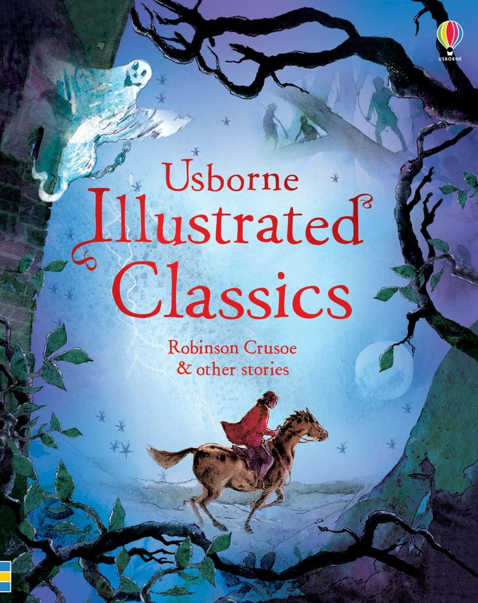 """Illustrated Book Cover Uk : """"illustrated classics — robinson crusoe and other stories"""