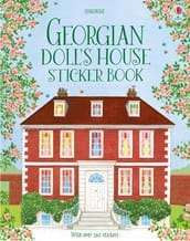 Georgian doll's house sticker book