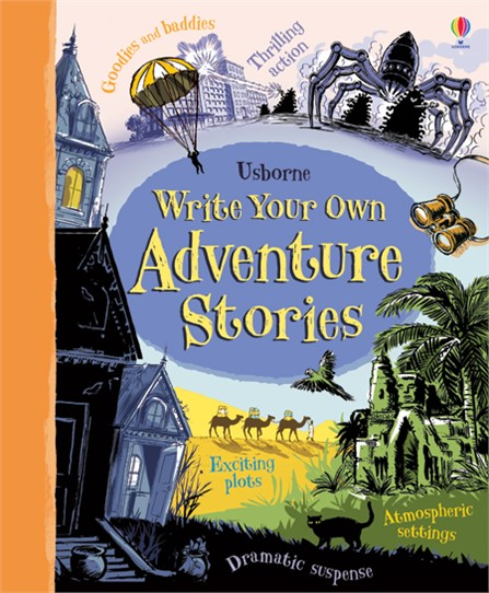 """Write your own adventure stories"""" at Usborne Books at Home"""