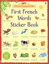First 100 words sticker book over 500 stickers