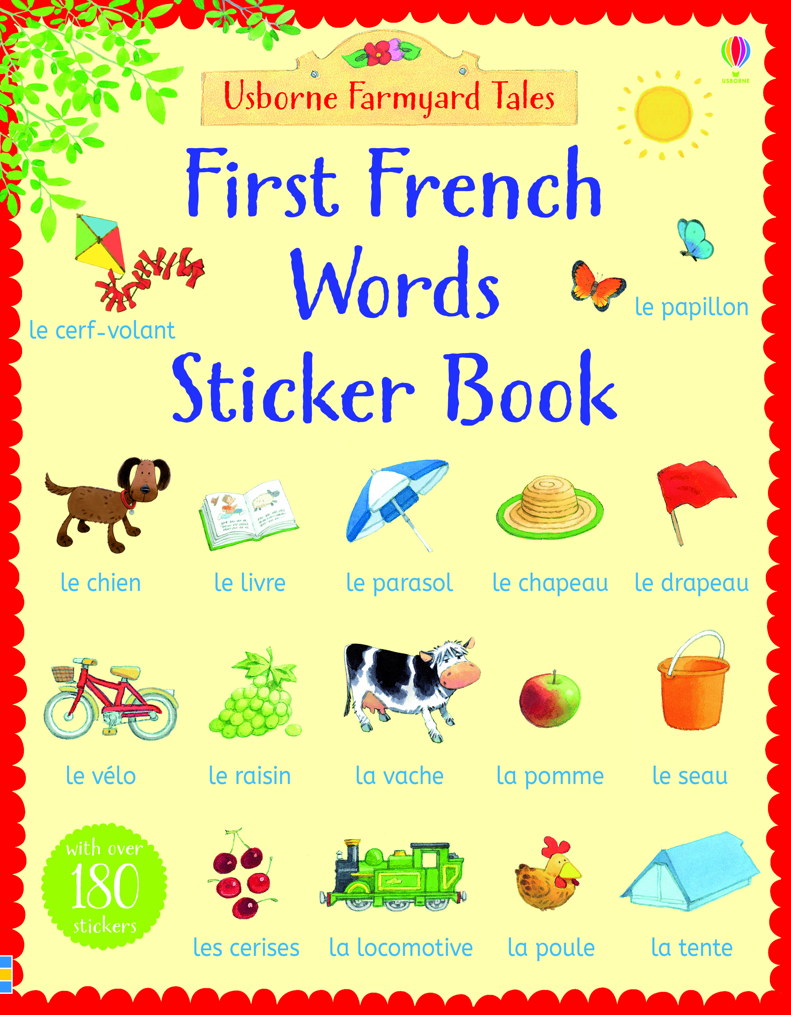 First French words sticker book  sc 1 st  Usborne Books at Home & First French words sticker booku201d at Usborne Books at Home