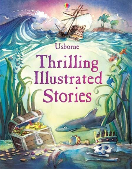 "Illustrated Book Cover Number ~ ""thrilling illustrated stories at usborne children s books"
