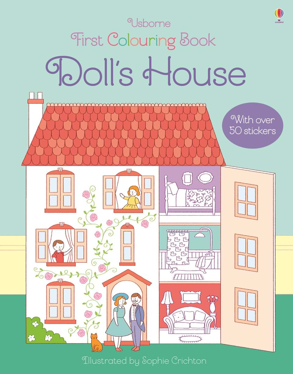 """Book Cover Forros House : """"doll s house at usborne children books"""