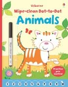Wipe-clean dot-to-dot animals