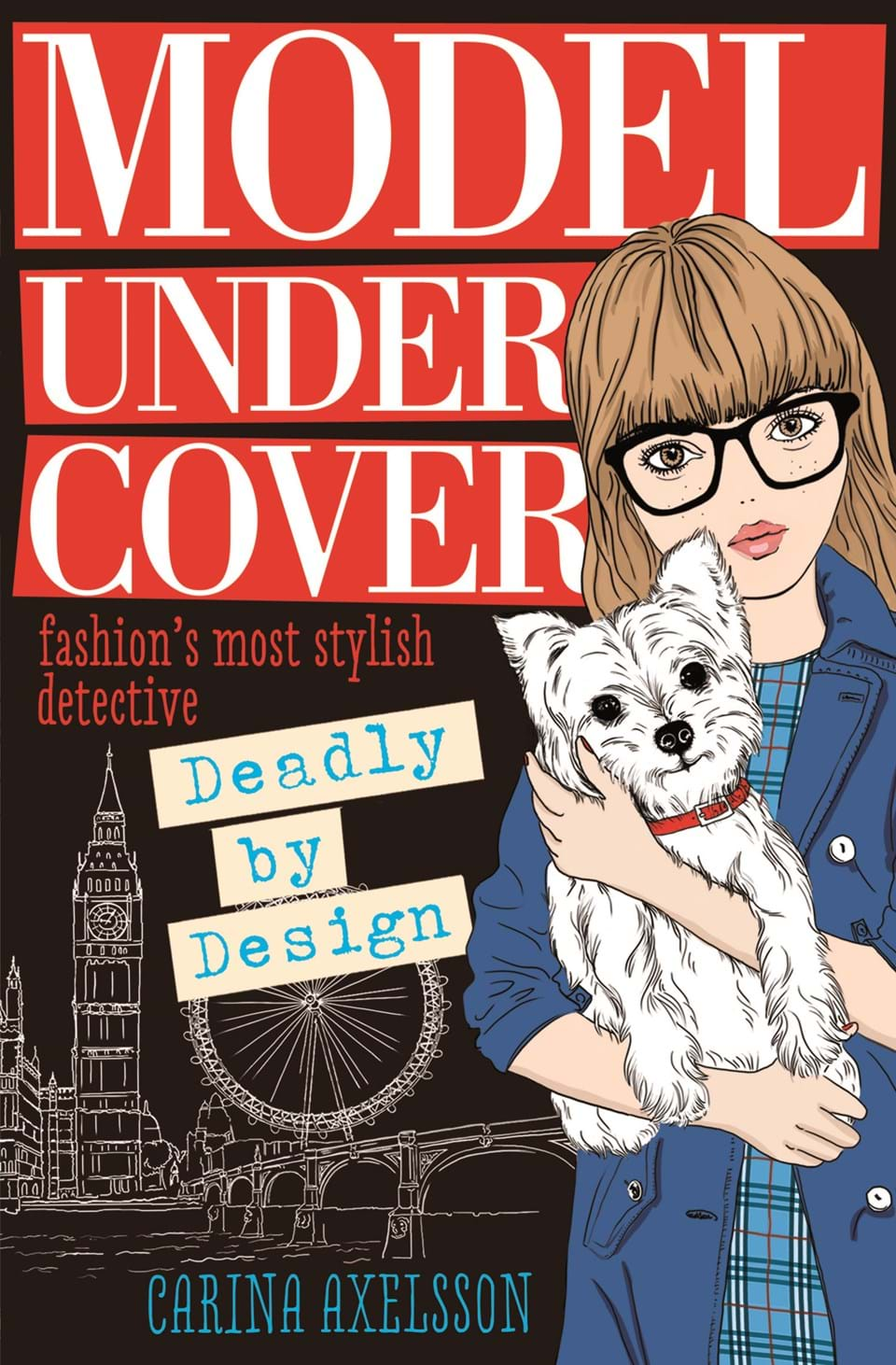 "The Summer I Turned Pretty Book Cover Models ~ ""model under cover — deadly by design at usborne children"