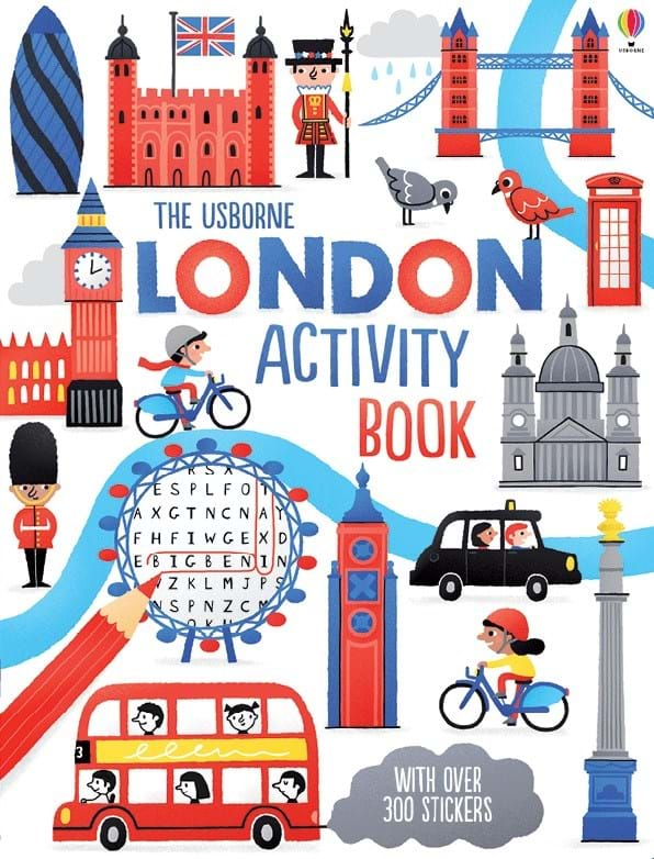 """Cook Book Cover Uk ~ """"london activity book at usborne books home"""