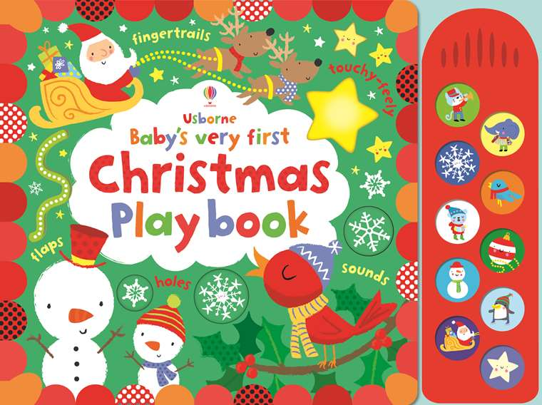 "Usborne Christmas Books 2019 Baby's very Christmas play book"" at Usborne Children's Books"