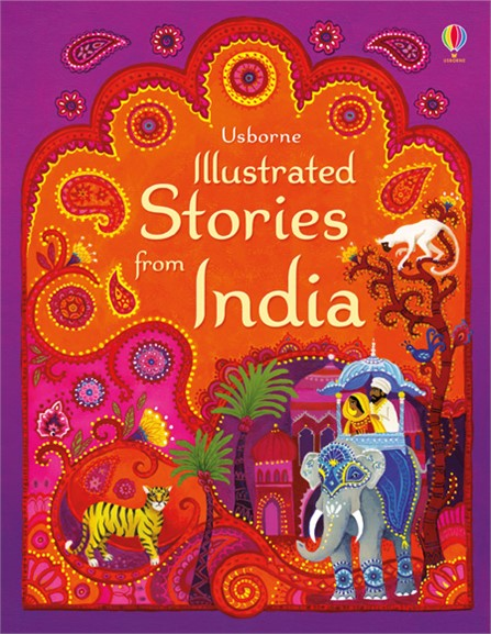 "Illustrated Book Cover Number ~ ""illustrated stories from india at usborne books home"