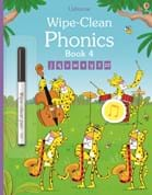 Wipe-clean phonics book 4