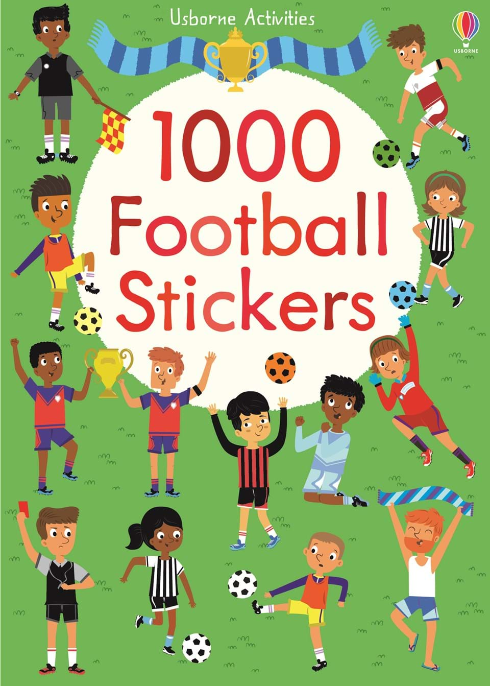 """1000 Football Stickers"" At Usborne Children's Books"