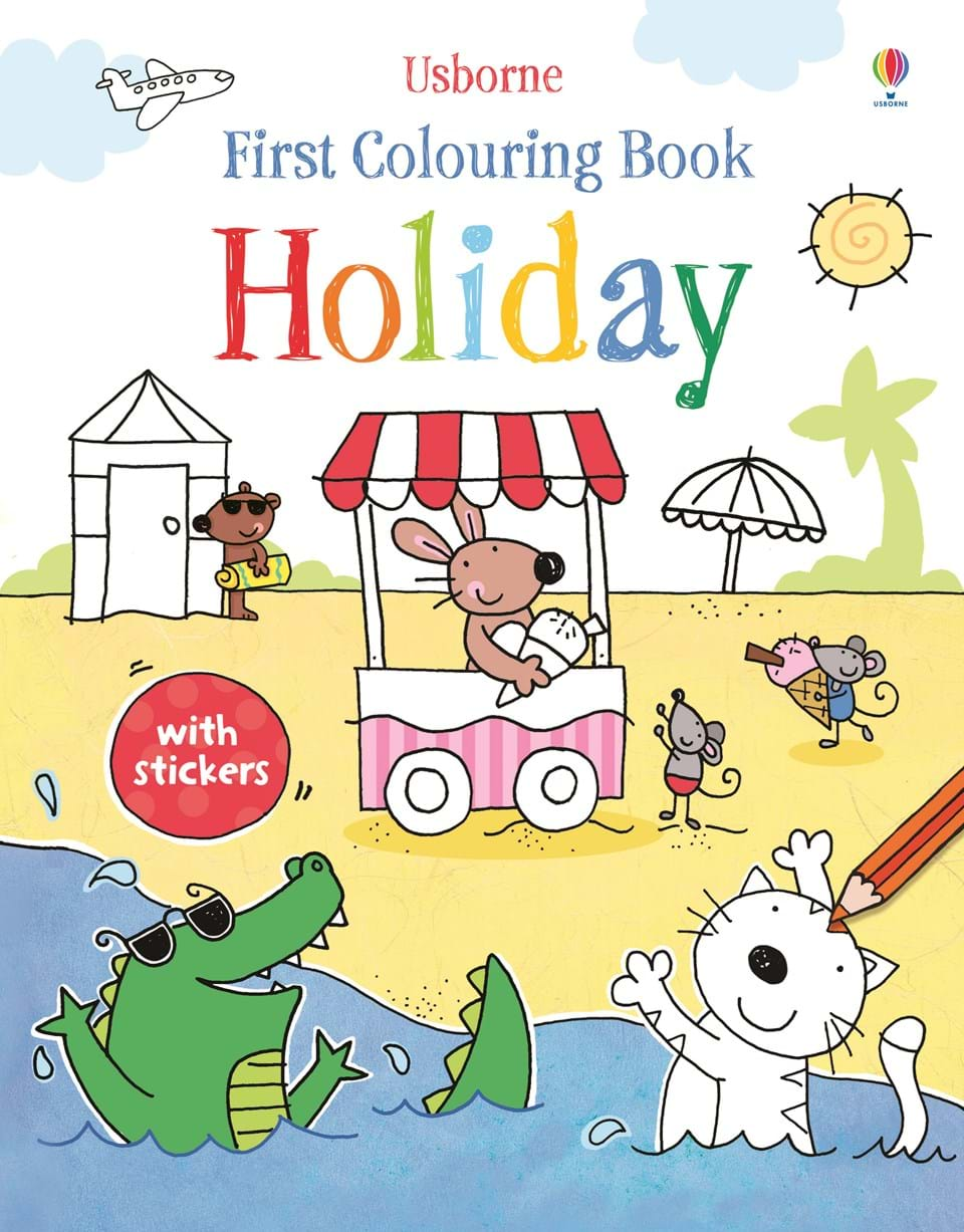 holiday holiday first colouring books - Colouring Books For Children