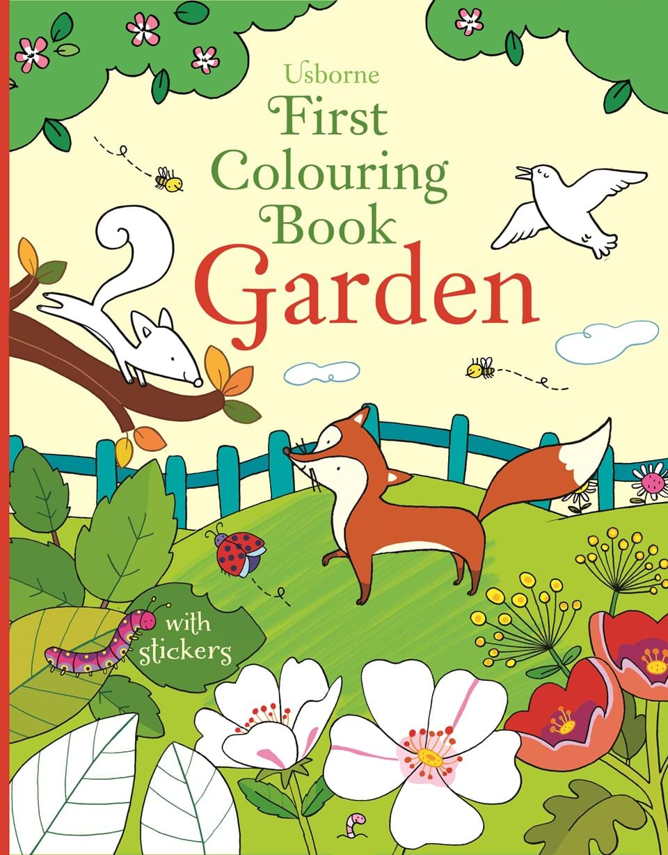 Garden at usborne children s books for Children s books about gardening