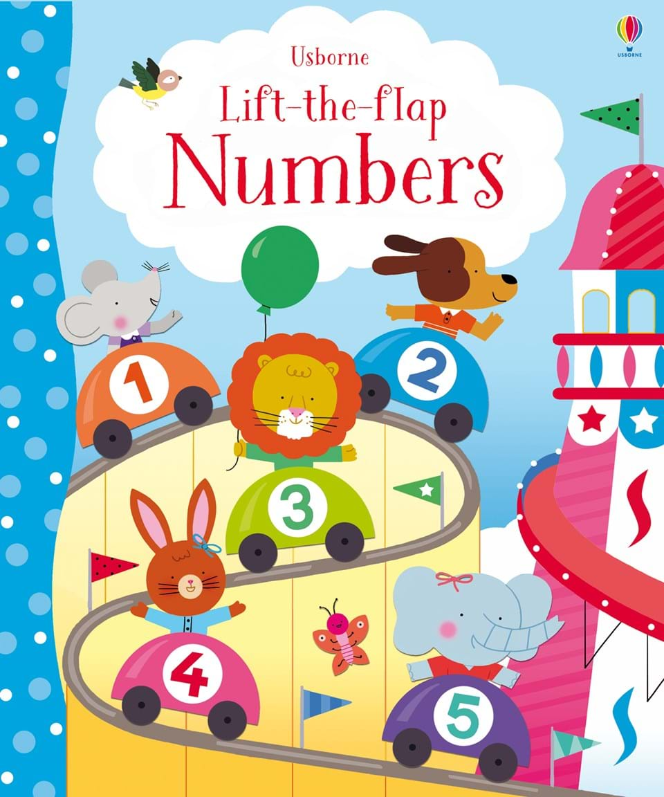 "Children S Book Cover Letter : ""lift the flap numbers at usborne books home organisers"