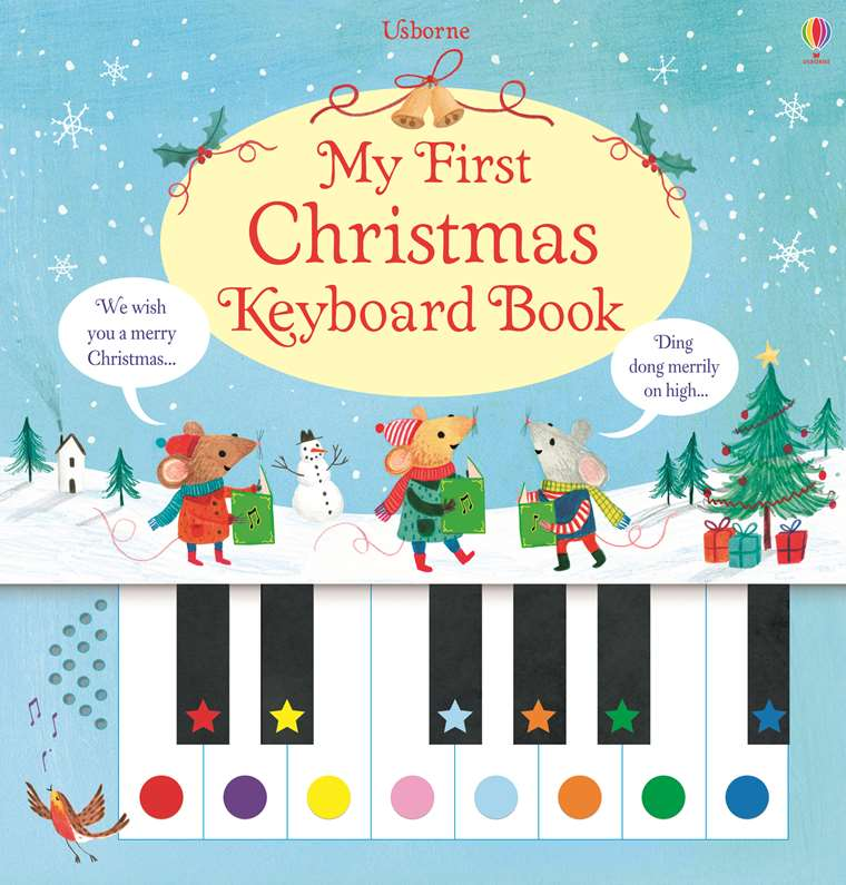 The First Christmas.My First Christmas Keyboard Book At Usborne Children S Books