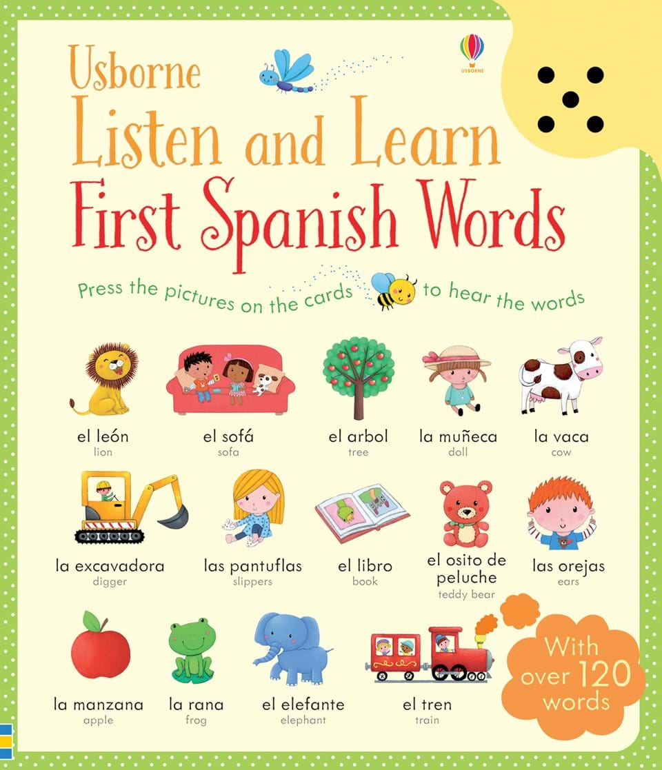 The Best Spanish Board Books for Babies and Toddlers