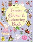 Fairies sticker and colouring book