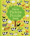 Farm picture puzzle book