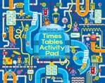 Times tables activity pad