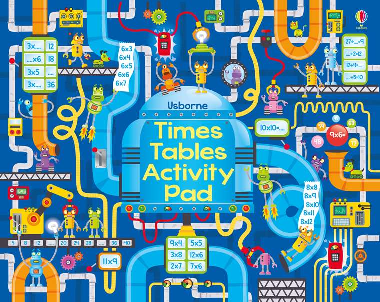 times tables activity pad at usborne children s books