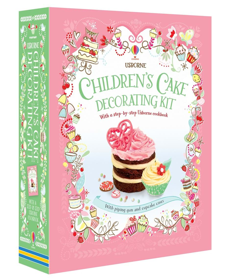 Cake Decorating Kit With Book : ?Children s cake decorating kit? at Usborne Books at Home